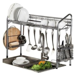 Beautiful Dish Rack Ideas For Your Small Kitchen 44