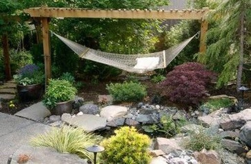 Brilliant Hammock Ideas For Backyard 43