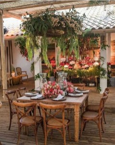 Outstanding Outdoor Dining Room Ideas 19