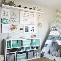 Popular Tiny Playroom Decoration Ideas You Can Select This 08