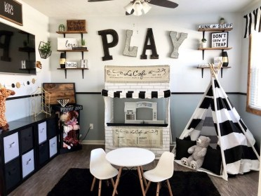 Popular Tiny Playroom Decoration Ideas You Can Select This 13