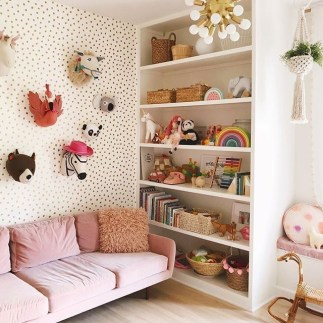 Popular Tiny Playroom Decoration Ideas You Can Select This 17
