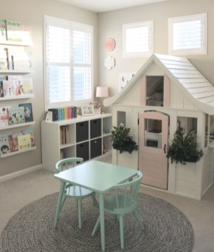 Popular Tiny Playroom Decoration Ideas You Can Select This 25