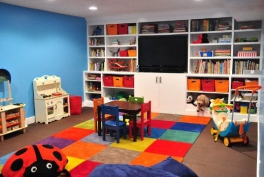 Popular Tiny Playroom Decoration Ideas You Can Select This 32