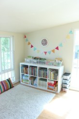 Popular Tiny Playroom Decoration Ideas You Can Select This 55