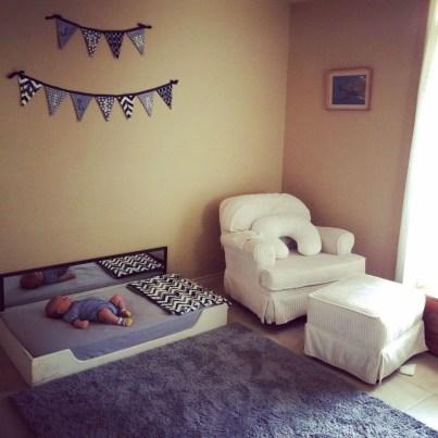 Smart Montessori Ideas For Baby Bedroom 02