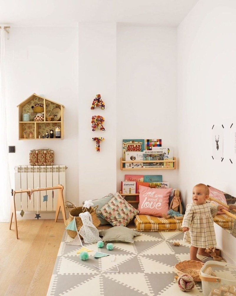 Smart Montessori Ideas For Baby Bedroom 17