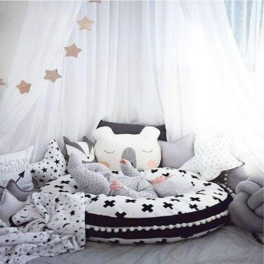 Smart Montessori Ideas For Baby Bedroom 21