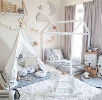 Smart Montessori Ideas For Baby Bedroom 30