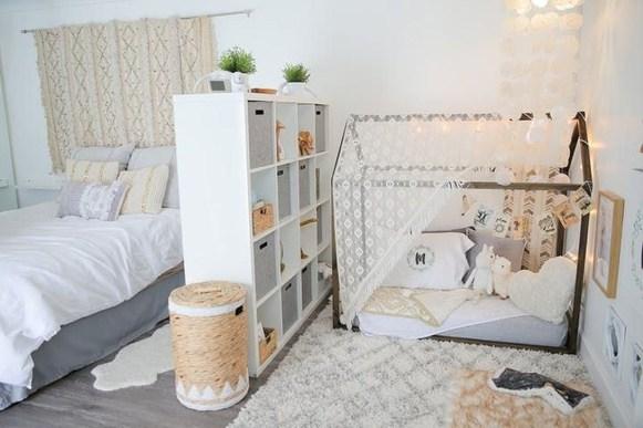 Smart Montessori Ideas For Baby Bedroom 32