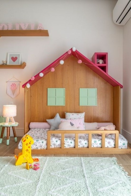 Smart Montessori Ideas For Baby Bedroom 34