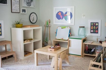 Smart Montessori Ideas For Baby Bedroom 35