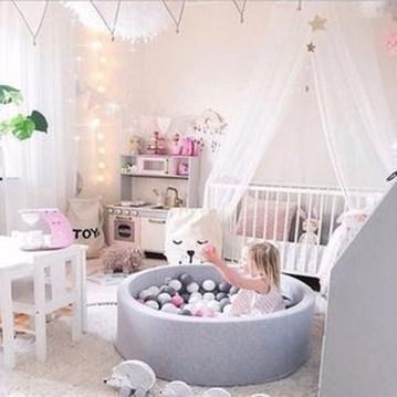 Smart Montessori Ideas For Baby Bedroom 44
