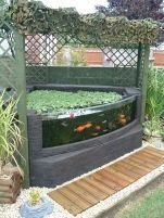 Stunning Backyard Aquarium Ideas 25