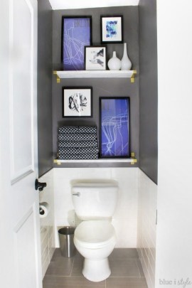 Brilliant Art Ideas For Bathroom To Try 08