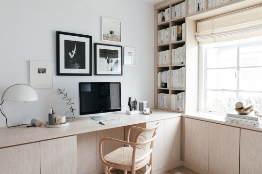 Charming Home Office Cabinet Design Ideas For Easy Storage 23