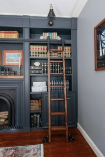 Charming Home Office Cabinet Design Ideas For Easy Storage 33