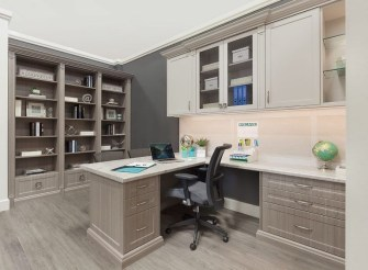 Charming Home Office Cabinet Design Ideas For Easy Storage 47