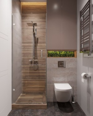 Classy Bathroom Design Ideas With Little Space 18