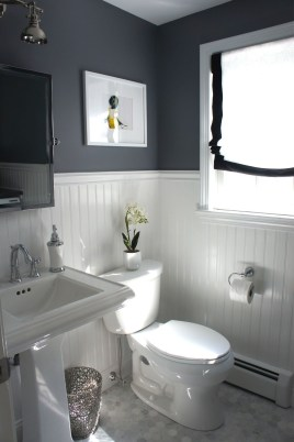 Classy Bathroom Design Ideas With Little Space 44