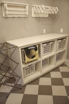 Cozy Laundry Room Storage Design Ideas 29