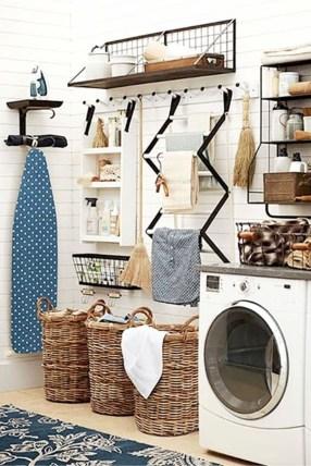 Elegant Laundry Room Design Ideas 34
