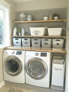 Elegant Laundry Room Design Ideas 39