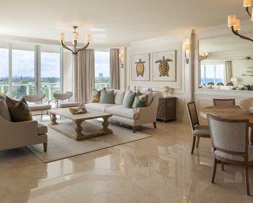 Extraordinary Living Room Design Ideas With Floor Granite 01