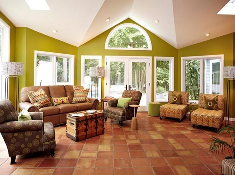 Extraordinary Living Room Design Ideas With Floor Granite 10