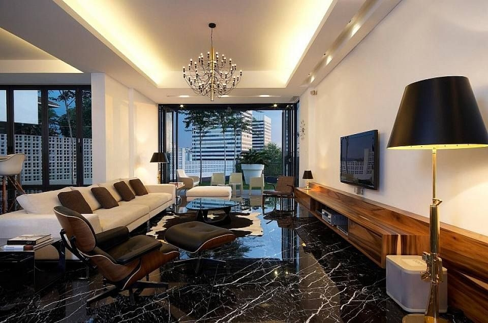Extraordinary Living Room Design Ideas With Floor Granite 13