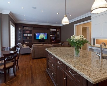 Extraordinary Living Room Design Ideas With Floor Granite 18