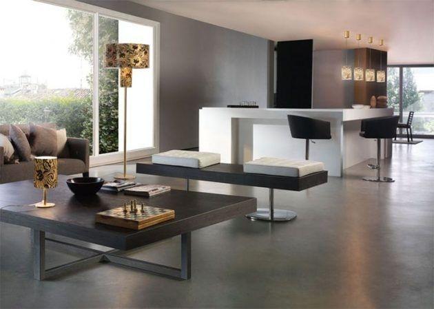 Extraordinary Living Room Design Ideas With Floor Granite 21