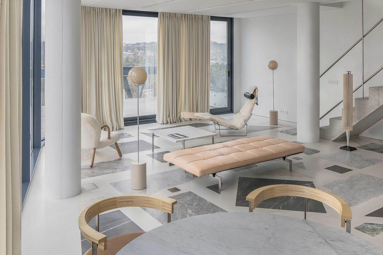 Extraordinary Living Room Design Ideas With Floor Granite 33