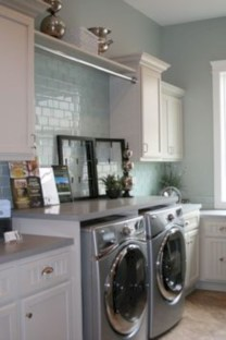 Fabulous Functional Laundry Room Decoration Ideas On A Budget 03