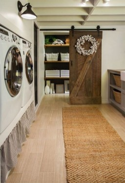 Fabulous Functional Laundry Room Decoration Ideas On A Budget 40