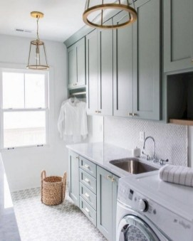 Fabulous Functional Laundry Room Decoration Ideas On A Budget 49