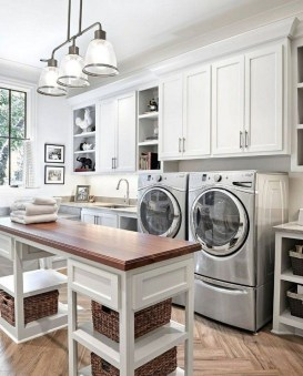 Fabulous Functional Laundry Room Decoration Ideas On A Budget 50