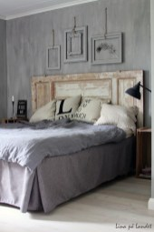 Fantastic Diy Bedroom Headboard Ideas To Make It More Comfortable 13