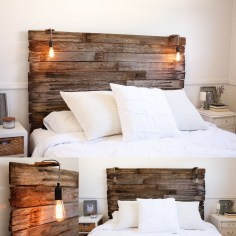 Fantastic Diy Bedroom Headboard Ideas To Make It More Comfortable 21