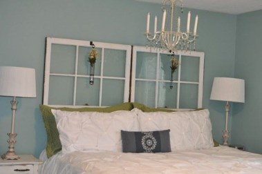 Fantastic Diy Bedroom Headboard Ideas To Make It More Comfortable 35
