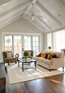 Gorgeous Ceiling Design Ideas For Living Room To Apply Asap 09