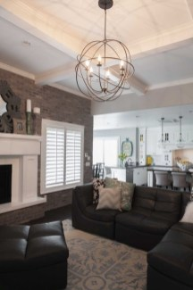Gorgeous Ceiling Design Ideas For Living Room To Apply Asap 10