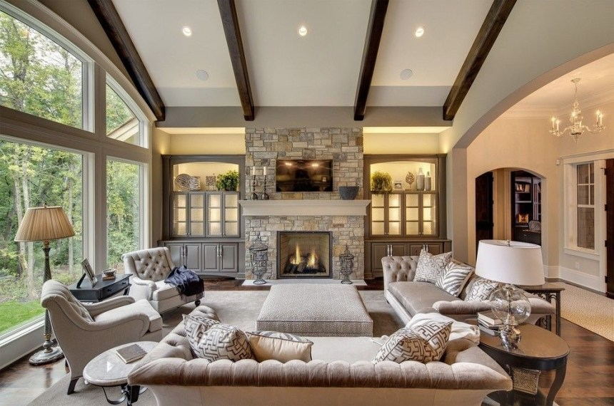 Gorgeous Ceiling Design Ideas For Living Room To Apply Asap 16