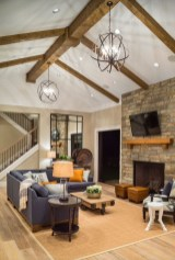 Gorgeous Ceiling Design Ideas For Living Room To Apply Asap 31