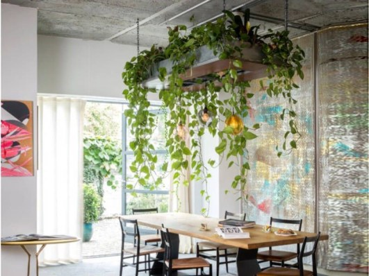 Latest Home Patio Design With Hanging Plants 06