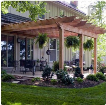 Latest Home Patio Design With Hanging Plants 19