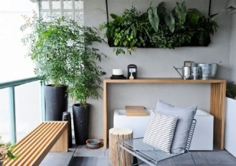 Latest Home Patio Design With Hanging Plants 24