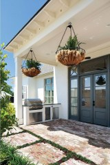 Latest Home Patio Design With Hanging Plants 40
