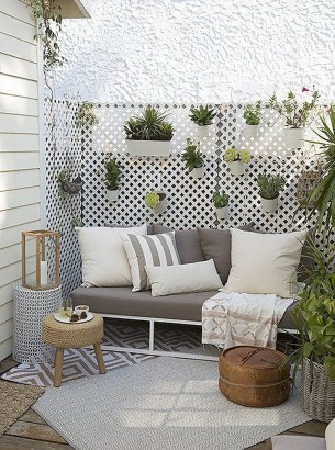 Latest Home Patio Design With Hanging Plants 46
