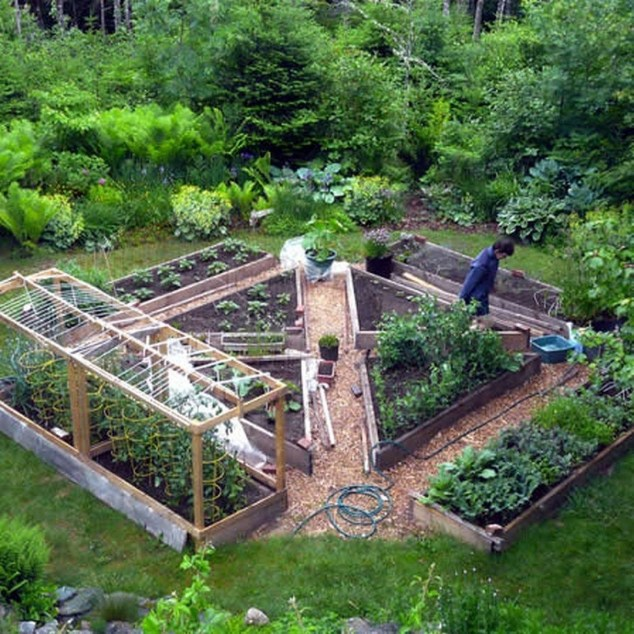 Outstanding Diy Raised Garden Beds Ideas 46